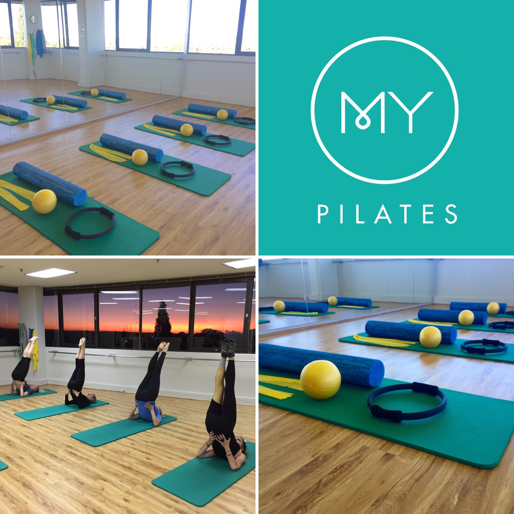Studio living at My Pilates Johannesburg